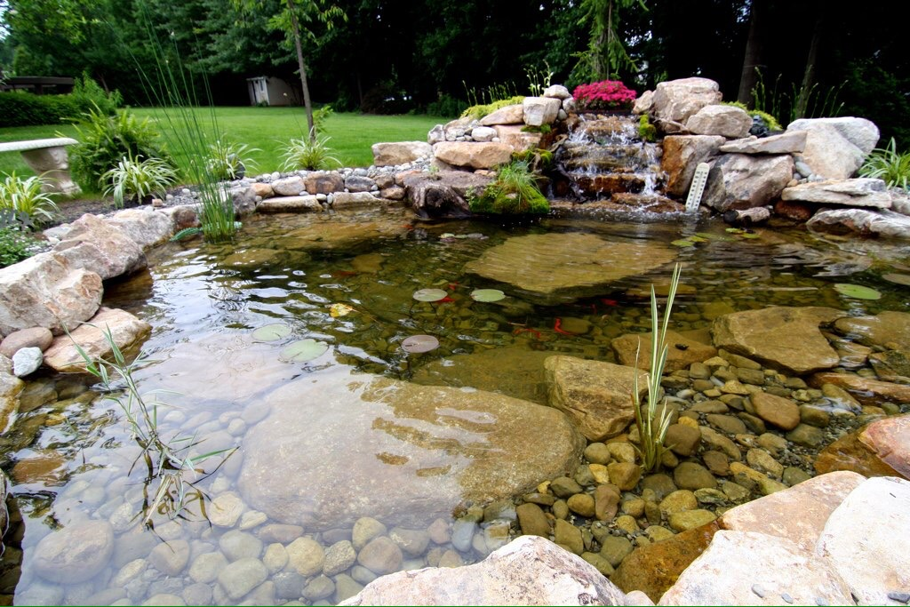 Pond maintenance fox landscape designs l bucks county for Pond maintenance companies